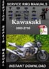 Thumbnail 2003 Kawasaki Z750 Service Repair Manual Download