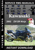 Thumbnail 2002 Kawasaki ZX12R Ninja Service Repair Manual Download