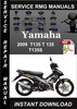 Thumbnail 2009 Yamaha T135 T 135 T135S Service Repair Manual Download