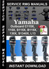 Thumbnail Yamaha Outboard C115X, 115X, S115X, B115X, 130X, S1340X, L13