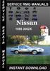 Thumbnail 1988 Nissan 300ZX Service Repair Manual Download