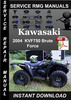 Thumbnail 2004 Kawasaki KVF750 Brute Force Service Repair Manual Downl