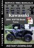 Thumbnail 2004 Kawasaki KVF750 Brute Force Service Repair Manual Downl