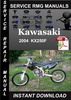 Thumbnail 2004 Kawasaki KX250F Service Repair Manual Download