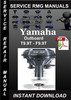 Thumbnail Yamaha Outboard T9.9T - F9.9T Service Repair Manual Download