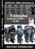 Thumbnail Yamaha Outboard T9.9W - F9.9W Service Repair Manual