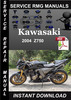 Thumbnail 2004 Kawasaki Z750 Service Repair Manual Download