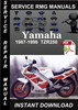 Thumbnail 1987-1996 Yamaha TZR250 Service Repair Manual Download