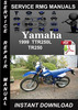 Thumbnail 1999 Yamaha TTR250L TR250 Service Repair Manual Download
