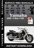 Thumbnail 2000 Yamaha V-Star-1100 Service Repair Manual Download