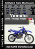 Thumbnail 2000 Yamaha TTR250L TR250 Service Repair Manual Download