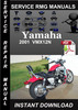 Thumbnail 2001 Yamaha VMX12N Service Repair Manual Download