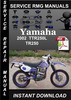 Thumbnail 2002 Yamaha TTR250L TR250 Service Repair Manual Download