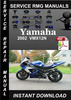 Thumbnail 2002 Yamaha VMX12N Service Repair Manual Download