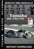 Thumbnail 2003 Yamaha V-Star-1100 Service Repair Manual Download