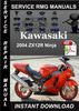 Thumbnail 2004 Kawasaki ZX12R Ninja Service Repair Manual Download