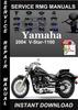 Thumbnail 2004 Yamaha V-Star-1100 Service Repair Manual Download