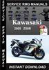 Thumbnail 2005 Kawasaki ZX6R Service Repair Manual Download