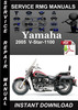 Thumbnail 2005 Yamaha V-Star-1100 Service Repair Manual Download