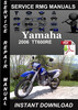 Thumbnail 2006 Yamaha TT600RE Service Repair Manual Download