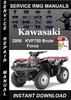 Thumbnail 2006 Kawasaki KVF750 Brute Force Service Repair Manual Downl
