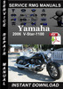 Thumbnail 2006 Yamaha V-Star-1100 Service Repair Manual Download