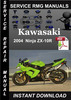 Thumbnail 2004 Kawasaki Ninja ZX-10R Service Repair Manual Download