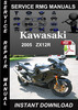 Thumbnail 2005 Kawasaki ZX12R Ninja Service Repair Manual Download