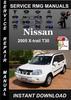 Thumbnail 2005 Nissan X-trail T30 Service Repair Manual Download