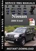 Thumbnail 2006 Nissan X-trail Service Repair Manual Download