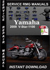 Thumbnail 2009 Yamaha V-Star-1100 Service Repair Manual Download