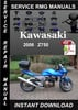 Thumbnail 2006 Kawasaki Z750 Service Repair Manual Download