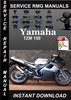 Thumbnail Yamaha TZM 150 Service Repair Manual Download