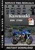 Thumbnail 2006 Kawasaki Z1000 Service Manual Download