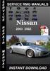 Thumbnail 2003 Nissan 350Z Service Repair Manual Download