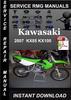Thumbnail 2007 Kawasaki KX85 KX100 Service Repair Manual Download