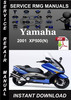 Thumbnail 2001 Yamaha XP500(N Service Repair Manual Download