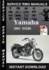 Thumbnail 2001 Yamaha XV250 Service Repair Manual Download