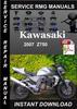Thumbnail 2007 Kawasaki Z750 Service Repair Manual Download