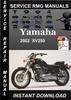 Thumbnail 2002 Yamaha XV250 Service Repair Manual Download