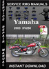 Thumbnail 2003 Yamaha XV250 Service Repair Manual Download