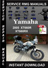 Thumbnail 2005 Yamaha XT660R XT660RX Service Repair Manual Download