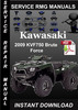 Thumbnail 2009 Kawasaki KVF750 Brute Force Service Repair Manual Downl