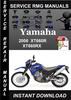 Thumbnail 2006 Yamaha XT660R XT660RX Service Repair Manual Download