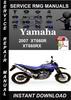 Thumbnail 2007 Yamaha XT660R XT660RX Service Repair Manual Download