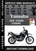 Thumbnail 2008 Yamaha XT660R XT660RX Service Repair Manual Download