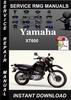 Thumbnail Yamaha XT600 Service Repair Manual Download