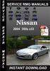 Thumbnail 2004 Nissan 350z z33 Service Repair Manual Download