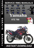 Thumbnail Yamaha XTZ 750 Service Repair Manual Download