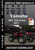 Thumbnail 1998 Yamaha YFM Grizzly 600 F Service Repair Manual Download
